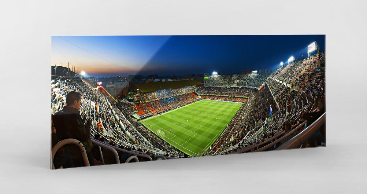 Valencia - Estadio Mestalla Stadionfoto Panorama als Wandbild