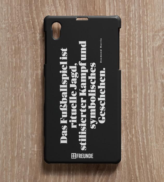 Zitat: Das Fußballspiel - Smartphonehülle - 11FREUNDE SHOP
