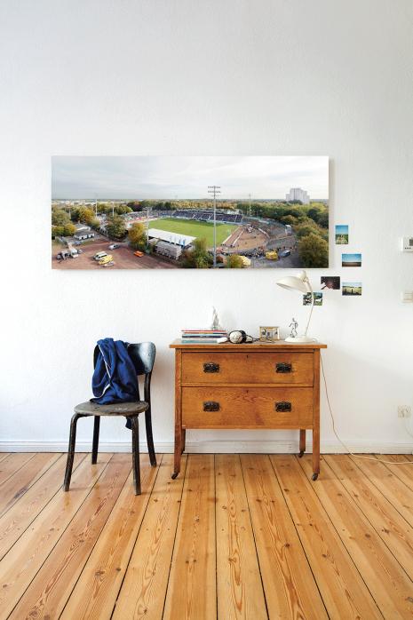Vogelperspektive Preußenstadion in deinen vier Wänden - 11FREUNDE BILDERWELT