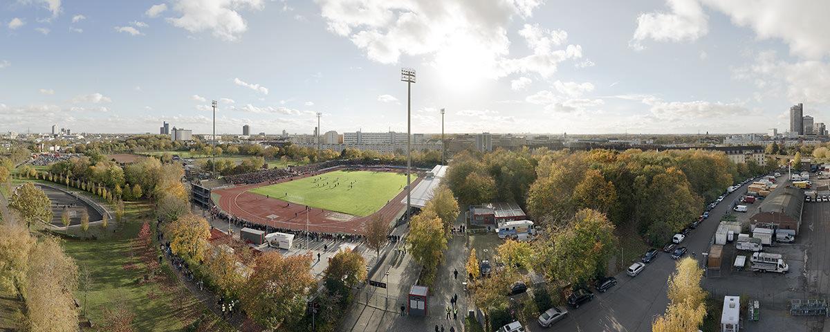 Vogelperspektive Südstadion - 11FREUNDE BILDERWELT