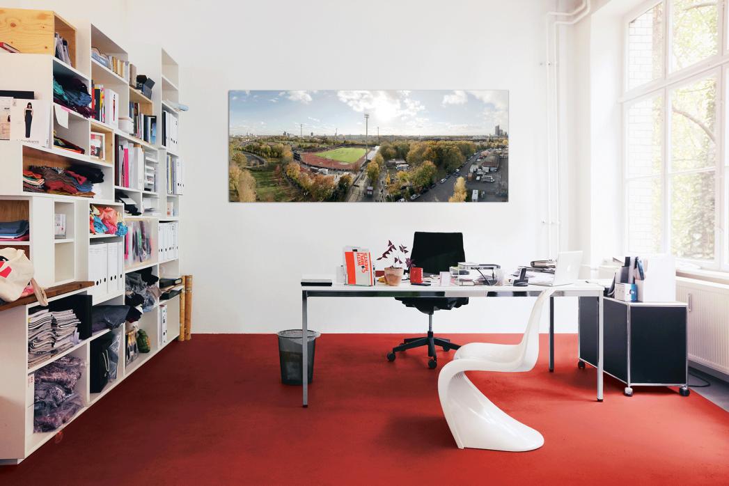 Vogelperspektive Südstadion in deinem Büro - 11FREUNDE BILDERWELT