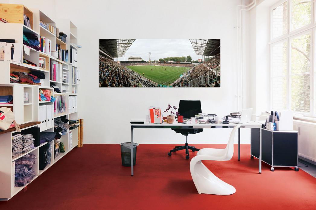 FC St. Pauli Millerntor Aufnahme von 2010 in deinem Büro - 11FREUNDE BILDERWELT