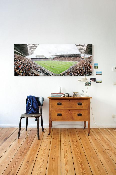 Das Stadion am Millerntor 2013 an deiner Wand - 11FREUNDE BILDERWELT