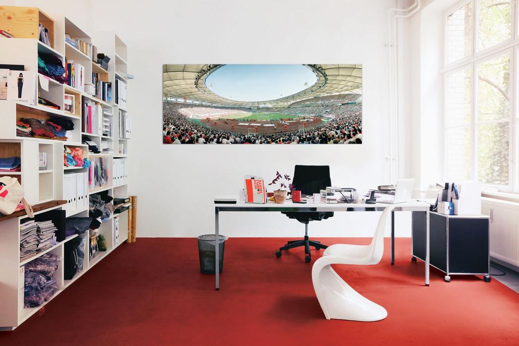 Stuttgart Gottlieb-Daimler-Stadion in deinem Büro - 11FREUNDE BILDERWELT