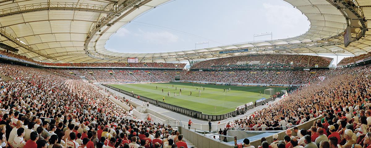 Stuttgart Mercedes Benz Arena 2011 Stadionposter
