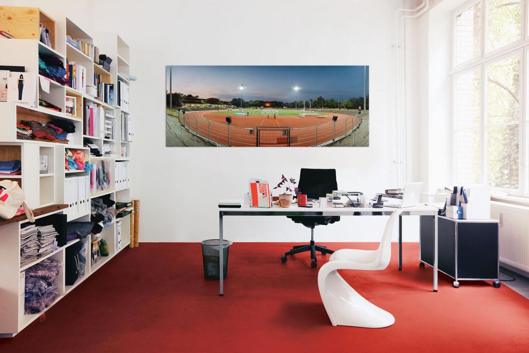 Mommsenstadion in deinem Büro - 11FREUNDE BILDERWELT