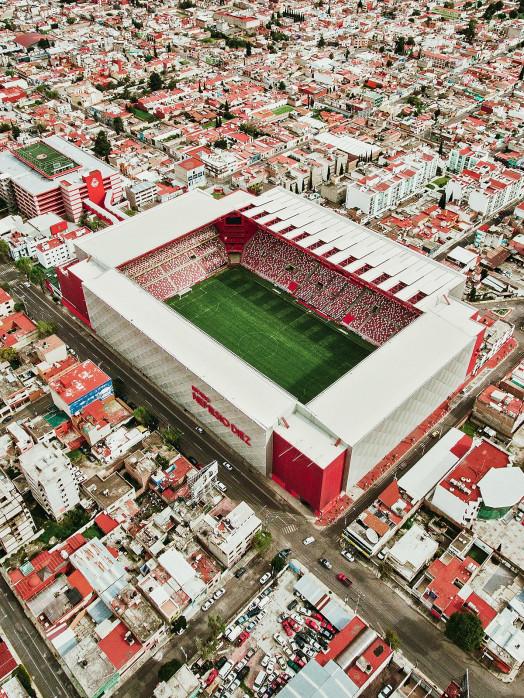 Stadion in Toluca - Stadion Wandbild - 11FREUNDE SHOP