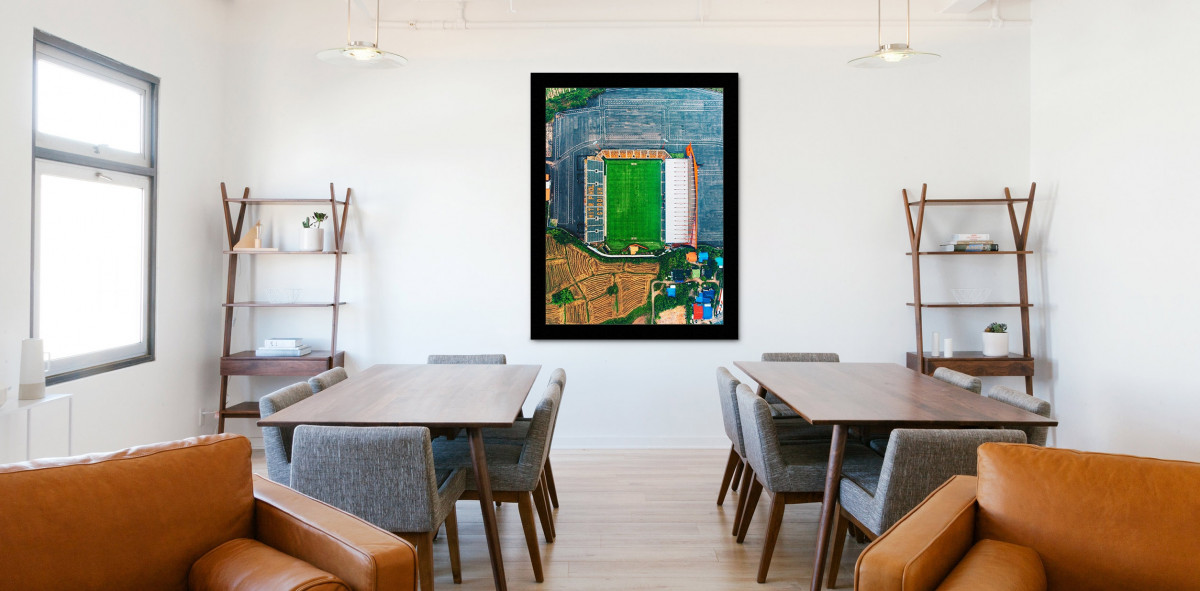 Vogelperspektive Mitr Phol Stadium - Stadion Wandbild - 11FREUNDE SHOP