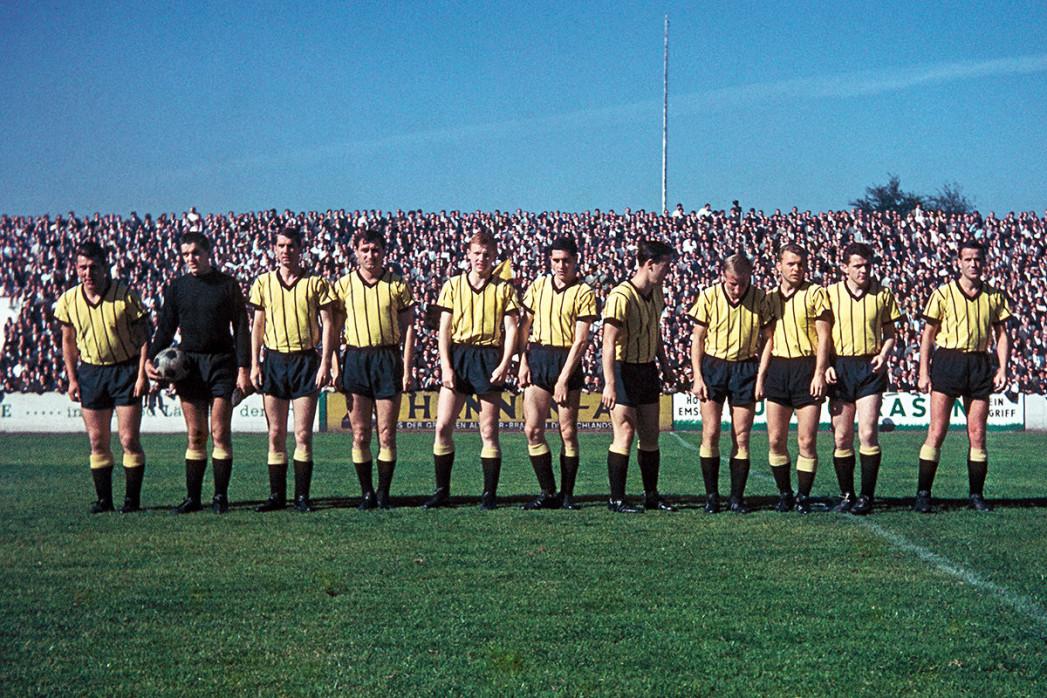 Aachen 1964 - Mannschaftsfoto - 11FREUNDE BILDERWELT