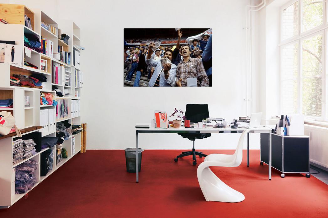 In deinem Büro: Algerische Fans in Gijon - 11FREUNDE BILDERWELT