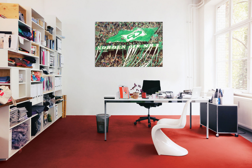 In deinem Büro: Bremen Fans 1999 - 11FREUNDE BILDERWELT