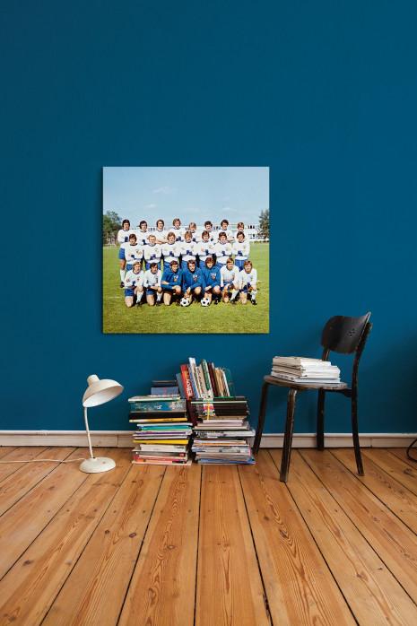 An deiner Wand: DDR Nationalmannschaft 1974 - 11FREUNDE BILDERWELT