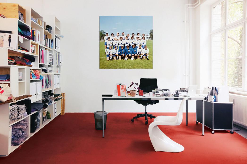 In deinem Büro: DDR Nationalmannschaft 1974 - 11FREUNDE BILDERWELT