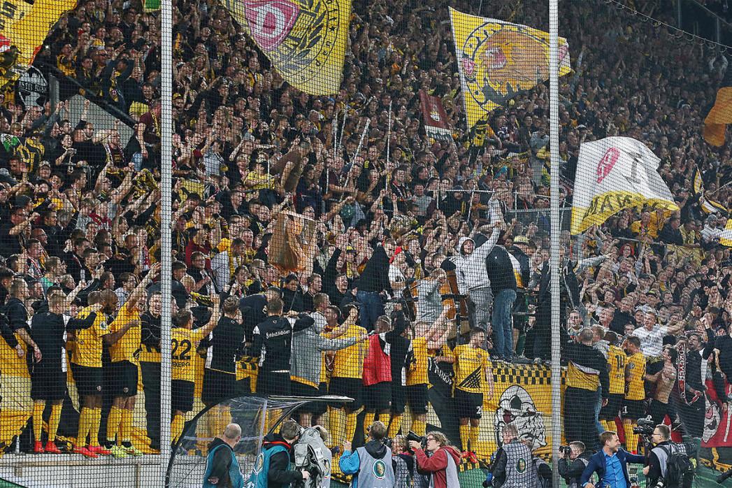 Dresden jubelt im Pokal - Dynamo Dresden - 11FREUNDE BILDERWELT