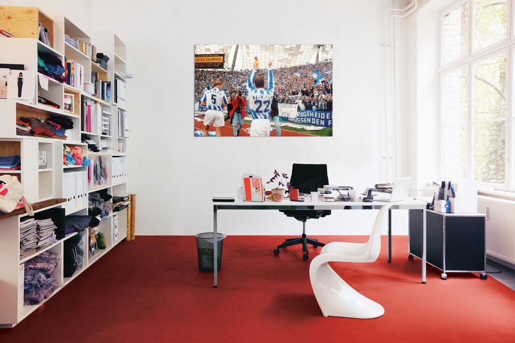 In deinem Büro: Ehlers und Beinlich FC Hansa Rostock - 11FREUNDE BILDERWELT