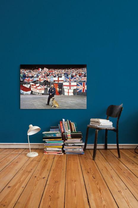 An deiner Wand: Englische Fans in Rotterdam - 11FREUNDE BILDERWELT