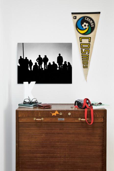 Im Flutlichtschein - Fußball Foto Wandbild - 11˘FREUNDE SHOP