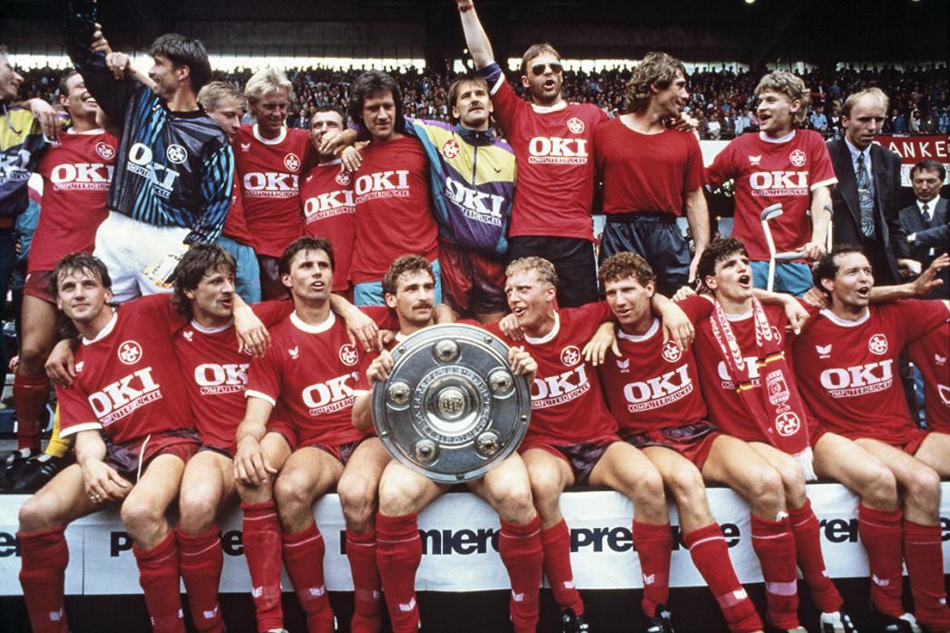 Lauterer Meisterjubel 1991 - 1. FC Kaiserslautern - 11FREUNDE BILDERWELT