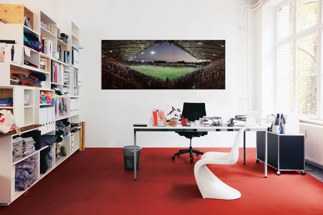1. FC Union Berlin Stadion an der Alten Försterei 2010 in deinem Büro - 11FREUNDE BILDERWELT