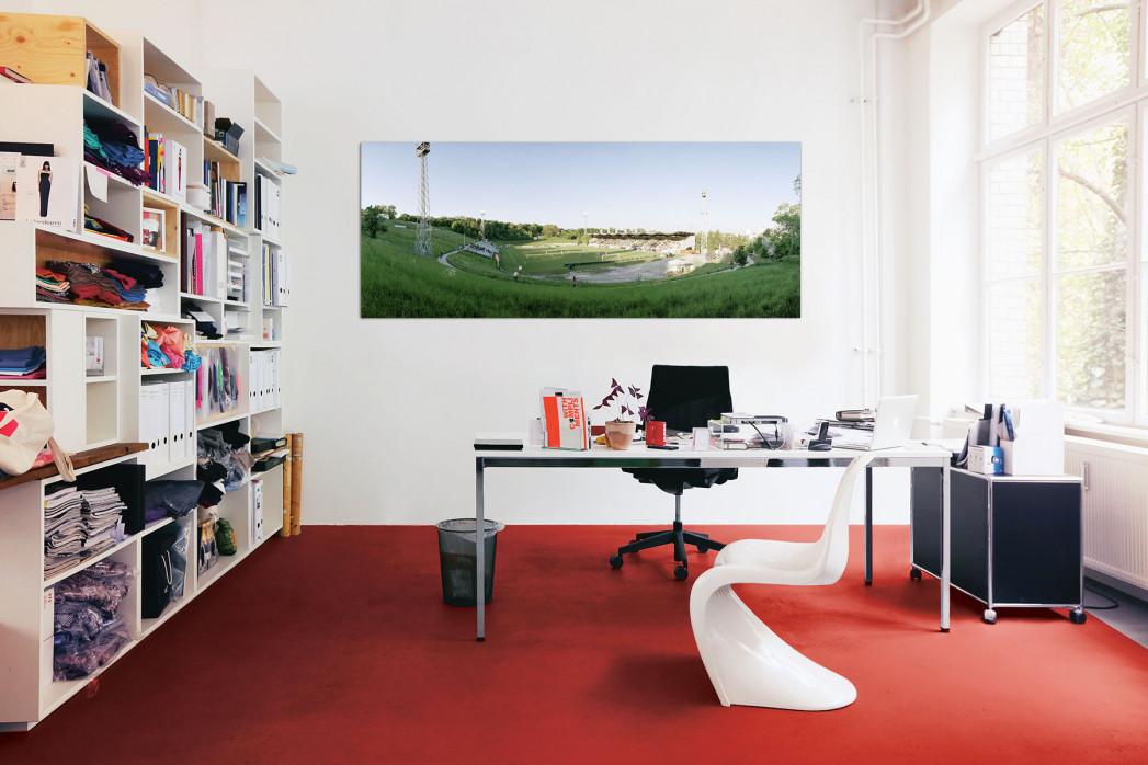 Casino Stadion Hohe Warte in deinem Büro - 11FREUNDE BILDERWELT