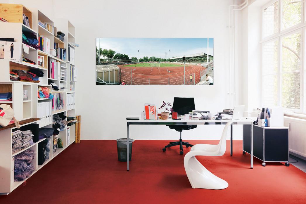 Das Lorheidestadion in deinem Büro - 11FREUNDE BILDERWELT