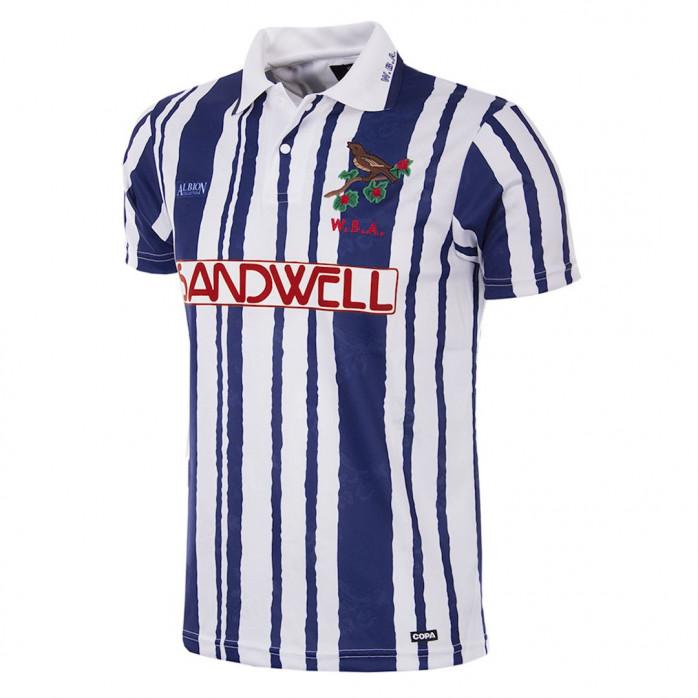 West Bromwich Albion 1992 - 93 Short Sleeve Retro Football Shirt