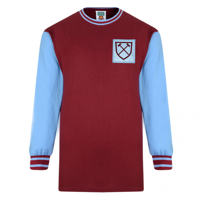 West Ham United Trikot 1966 - Score Draw Retro Trikots - 11FREUNDE ...