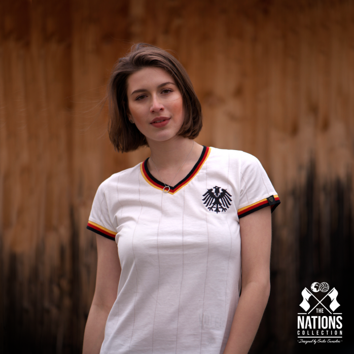 Germany - Die Adler for Women - THE NATIONS designed by Emilio Sansolini - 11FREUNDE SHOP