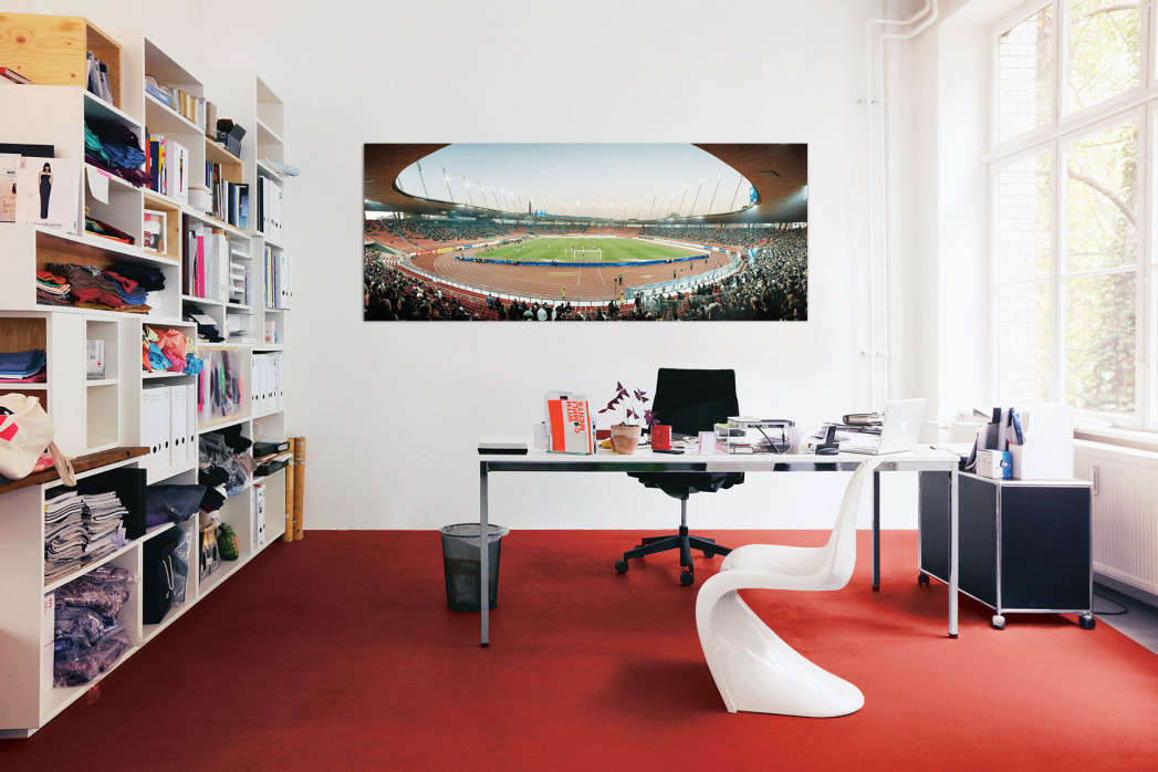 Zürich Stadion Letzigrund in deinem Büro - 11FREUNDE BILDERWELT