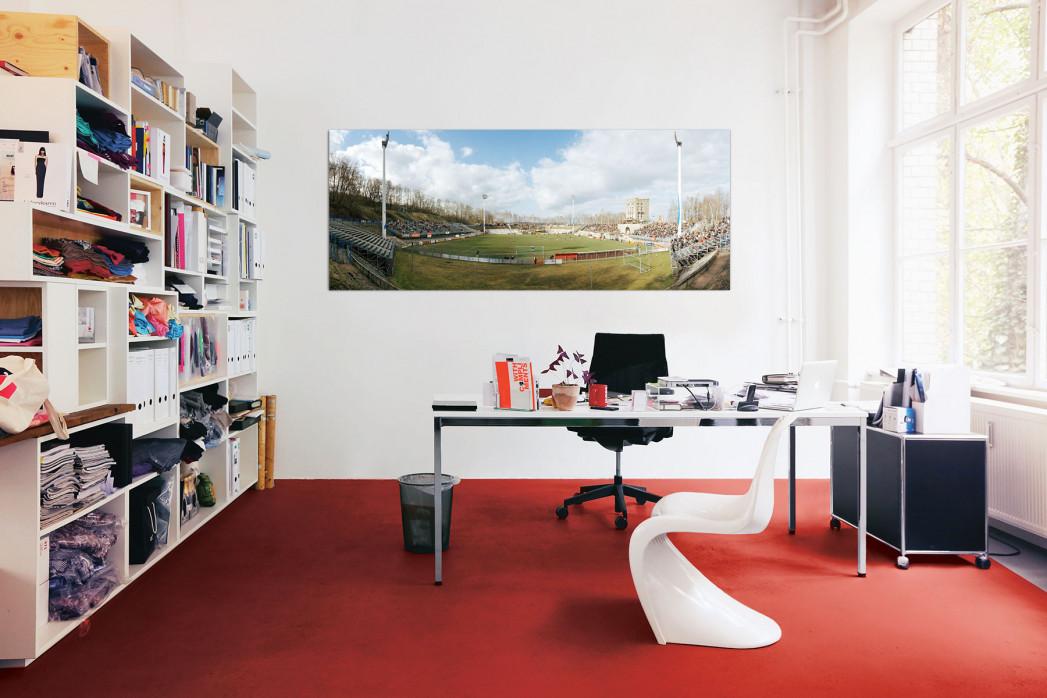 Zwickau Westsachsenstadion in deinem Büro - 11FREUNDE BILDERWELT