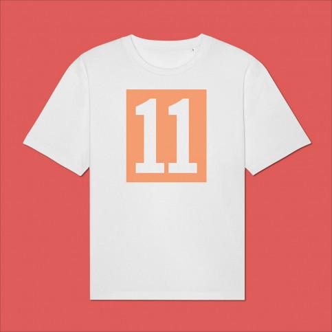 T-Shirt - 11 Kasten-Logo (Fairwear & Bio-Baumwolle) | 11FREUNDE Textil