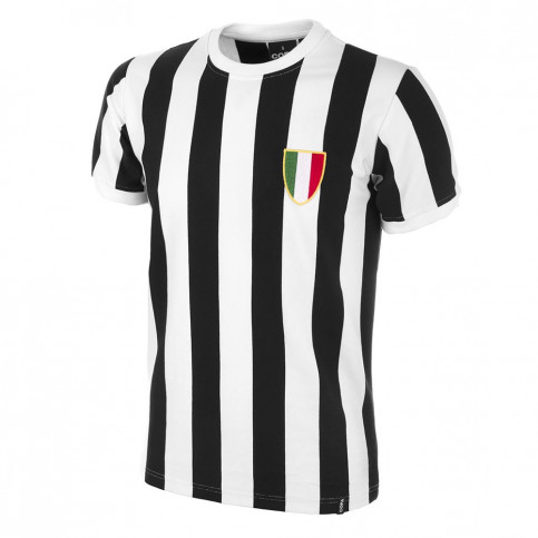 Juve 1970's Short Sleeve Retro Football Shirt