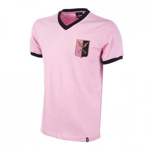 Palermo 1970's Short Sleeve Retro Football Shirt