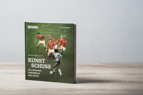 Kunstschuss - Die schönsten Fußballfotos aller Zeiten - 11FREUNDE SHOP - Fussball Buch