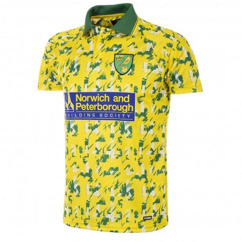 Norwich FC 1992 - 94 Short Sleeve Retro Football Shirt