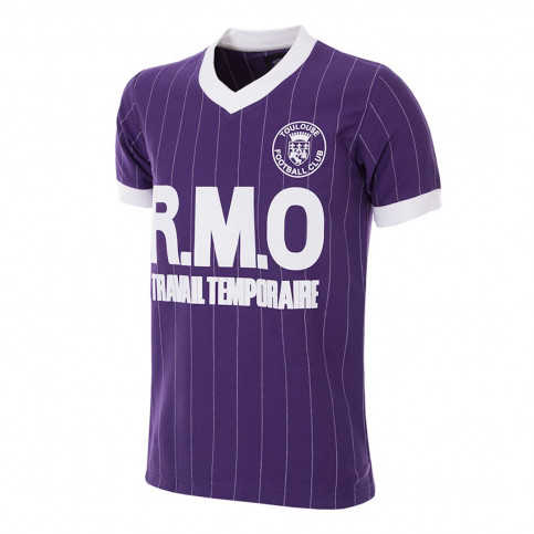 Toulouse FC 1983 - 84 Retro Football Shirt