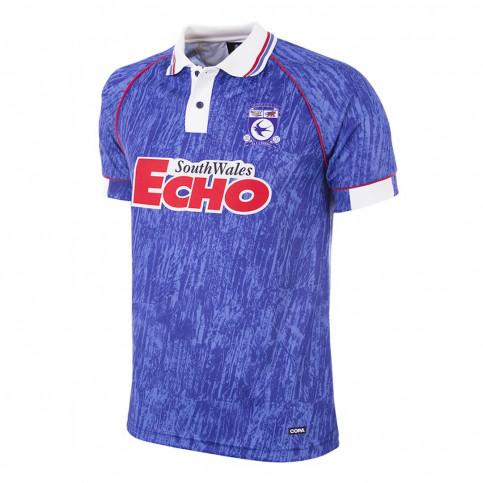 Cardiff City FC 1993 Retro Football Shirt