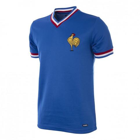 France 1971 Short Sleeve Retro Football Shirt