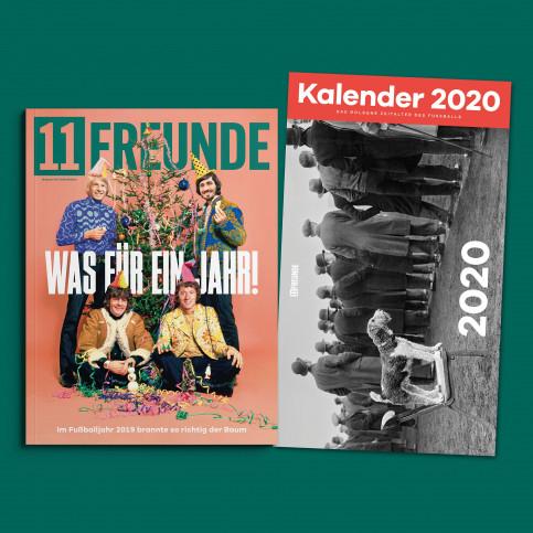 11FREUNDE Ausgabe #218 (inkl. Kalender 2020)