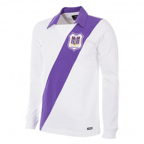 RSC Anderlecht 1962 - 63 Retro Football Shirt