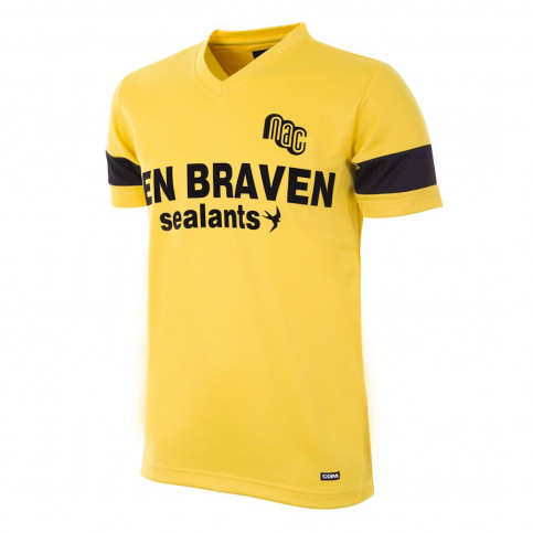 NAC Breda 1989 - 90 Retro Football Shirt