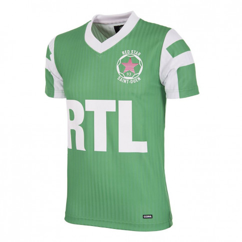 Red Star F.C. 1991 - 92 Retro Football Shirt