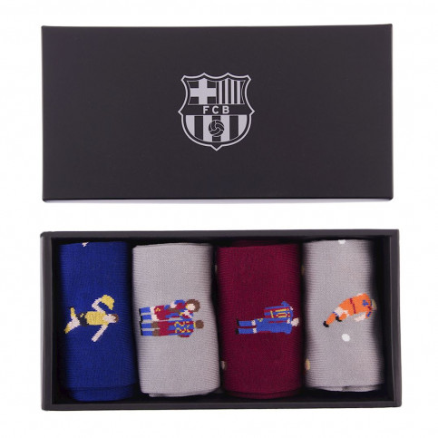 FC Barcelona Casual Socks Box Set
