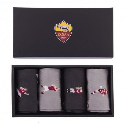 AS Roma Casual Socks Box Set