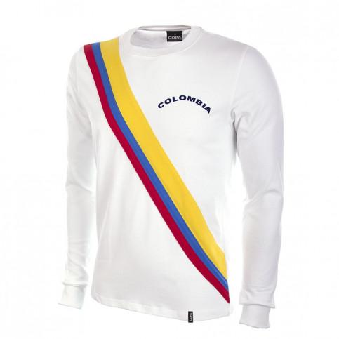 Colombia 1973 Long Sleeve Retro Football Shirt