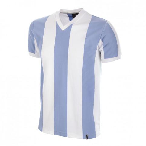 Argentina 1960's Short Sleeve Retro Football Shirt