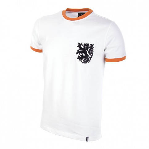 Holland Away 1970's Short Sleeve Retro Football Shirt