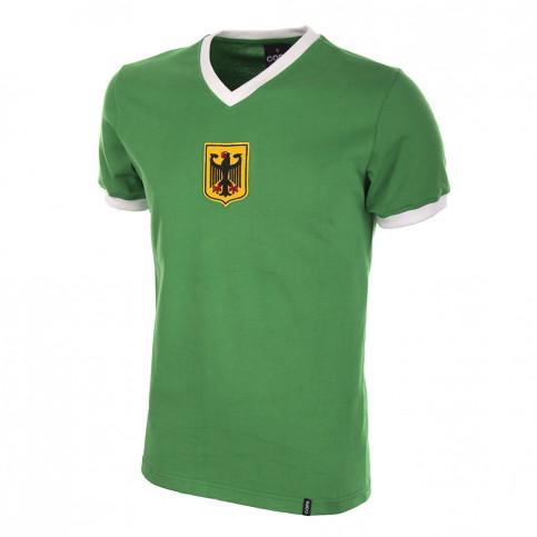 Germany Away 1970's Short Sleeve Retro Football Shirt