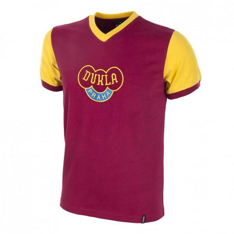 Dukla Prague 1960's Short Sleeve Retro Football Shirt