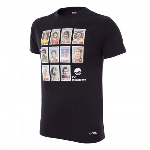 Moustache Dream Team T-Shirt (black)